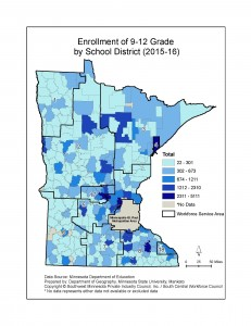 Greater MN School District Maps